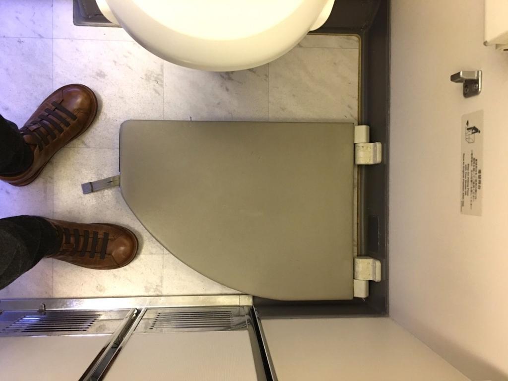 JALファーストクラス・トイレ