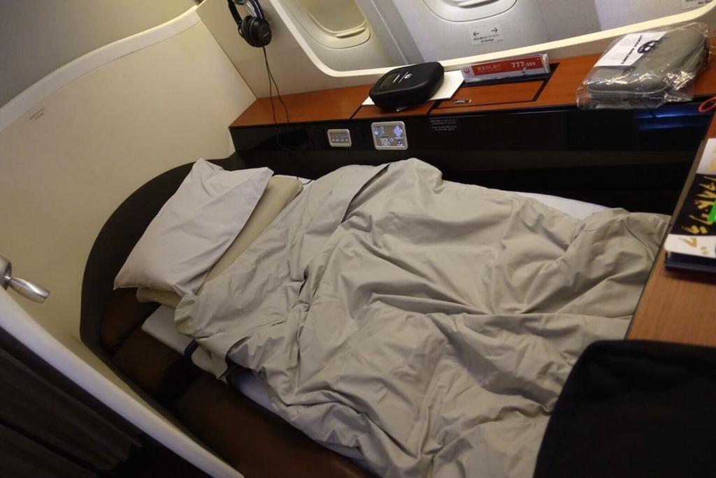 JALファーストクラス・ベッド