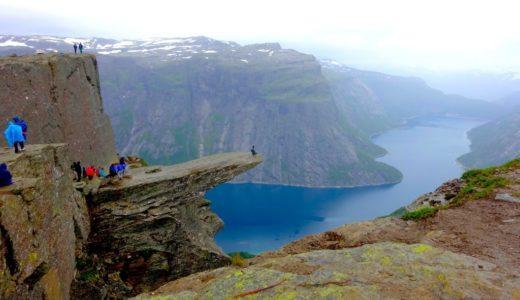 ノルウェー「トロルの舌」は絶景だった!行き方と持ち物・体験記