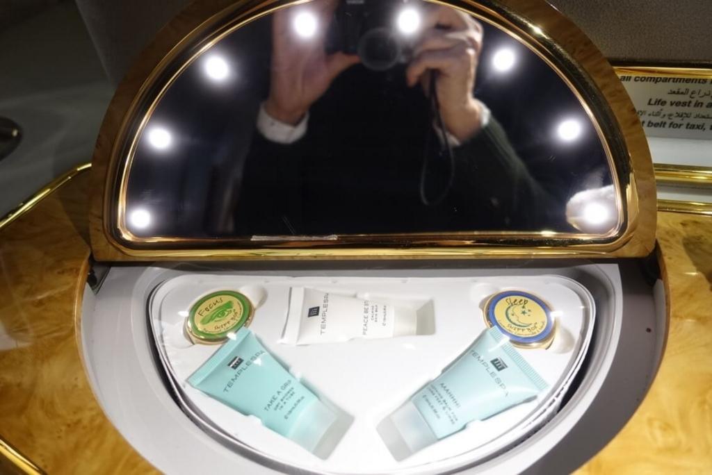 ファーストクラス鏡