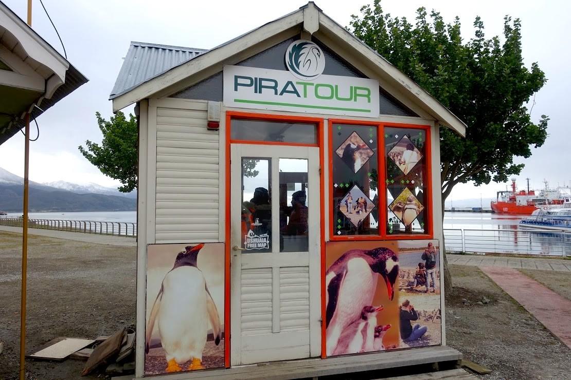 ウシュアイア・ペンギンツアー