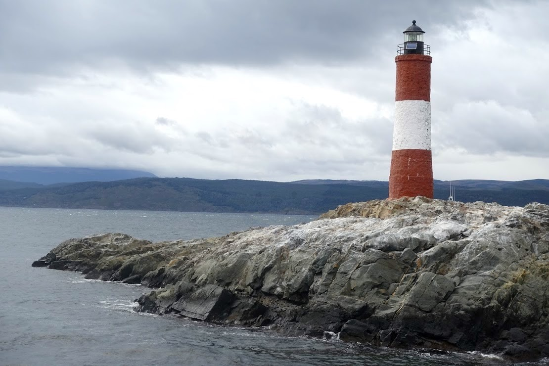 ビーグル水道のエクレール灯台