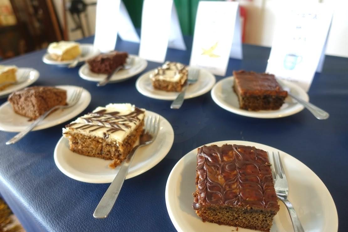 ハーバートン牧場のケーキ