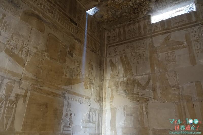 セティ1世葬祭殿の壁画