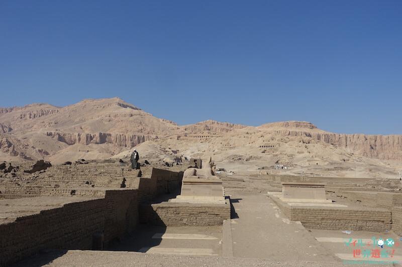 ラムセウスの発掘現場