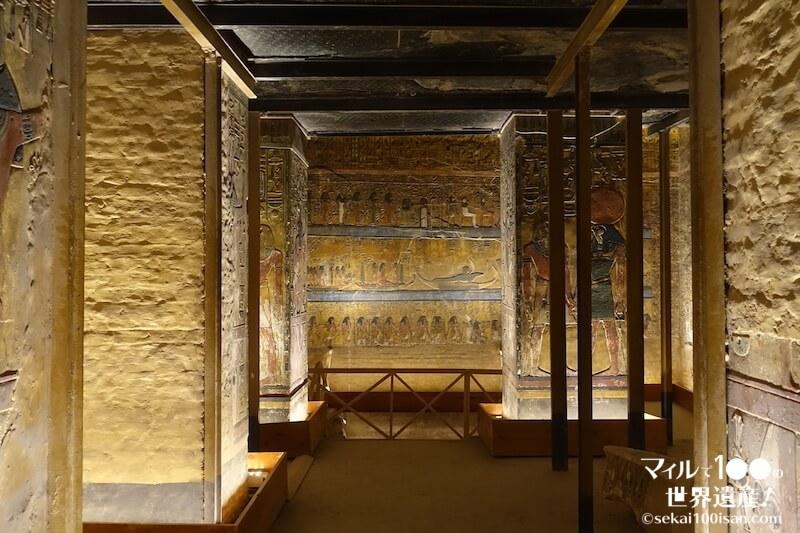 世界遺産セティ1世の墓の玄室