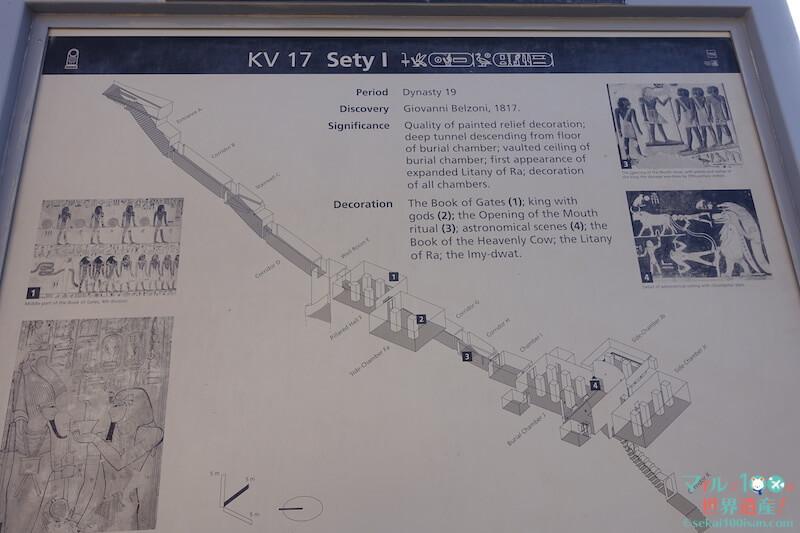 セティ1世の王墓