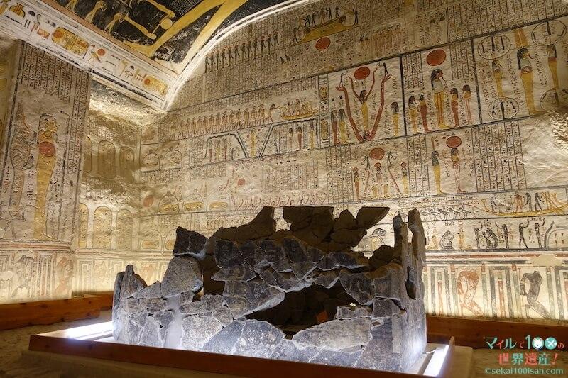 王家の谷ラムセス6世の王墓