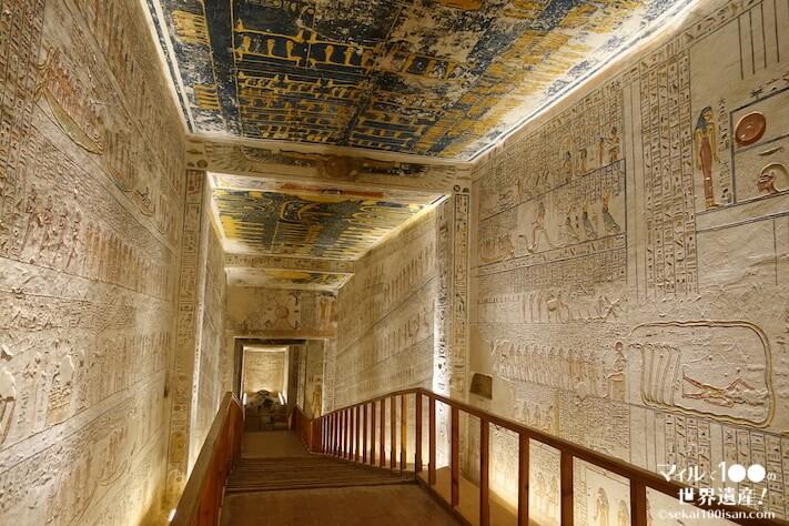 ラムセス6世の墓通路