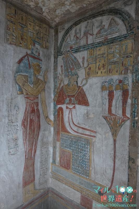 タァウセルト/セトナクトの壁画