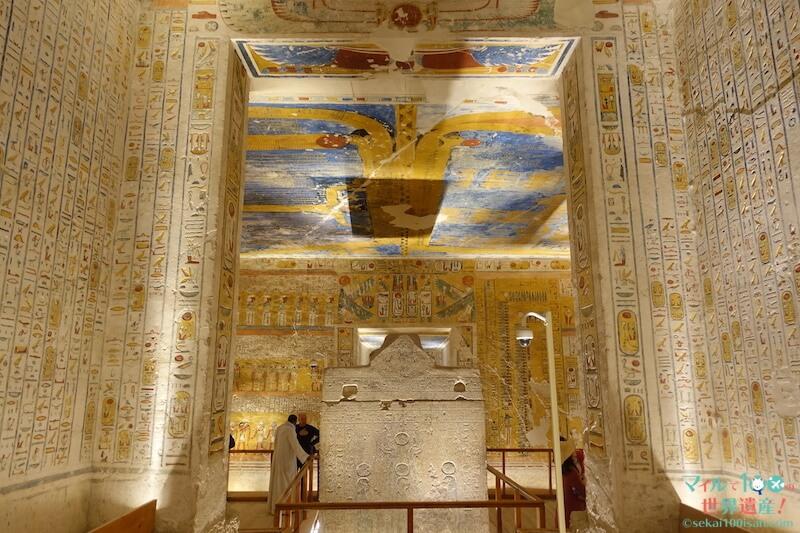 王家の谷ラムセス4世の王墓