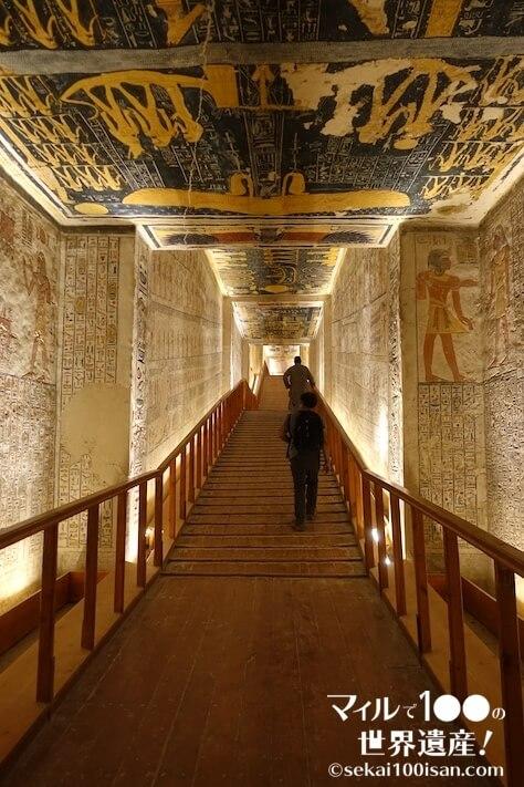 エジプトルクソール世界遺産「王家の谷」
