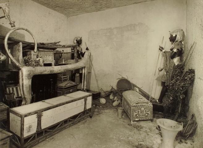 ツタンカーメンの王墓発掘